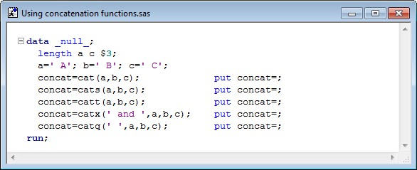 Concatenating Strings » Amadeus on